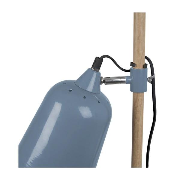 Modrá stolní lampa ETH Wood