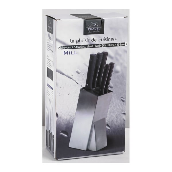 Blok nožů Jean Dubost Mill Brosse, 5 ks