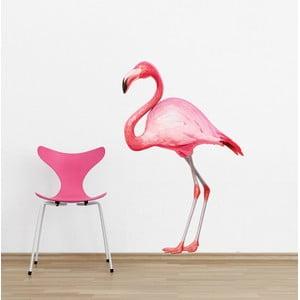 Samolepka Flamingo, 90x60 cm