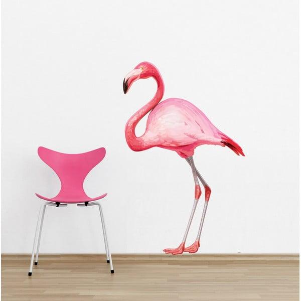 Samolepka na stěnu  Flamingo