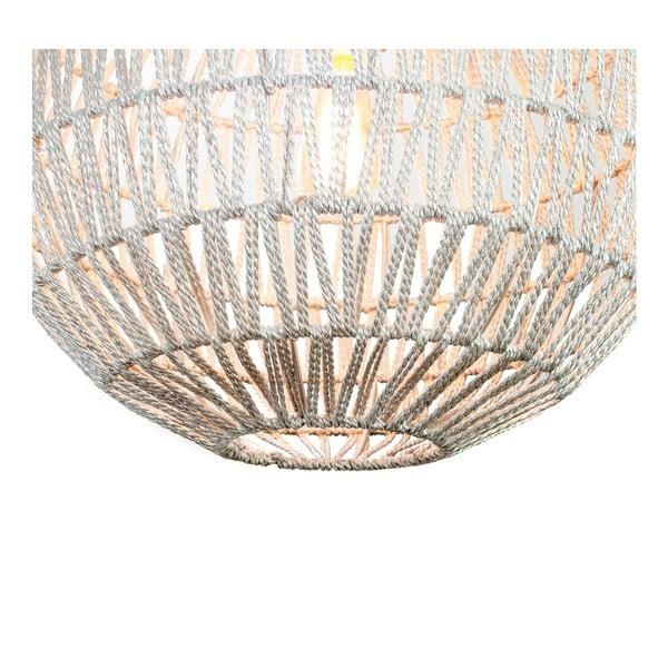 Závěsný lustr Fisura Hive Silver, 40 cm