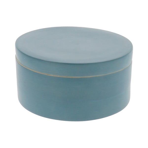 Niebieski pojemnik bambusowy z pokrywką Compactor Bamboo Box