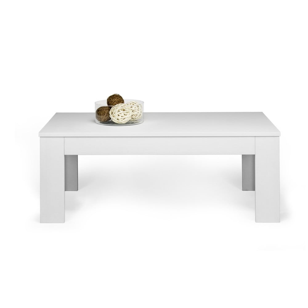 Konferenční stolek v dekoru bílé borovice MobiliFiver Easy