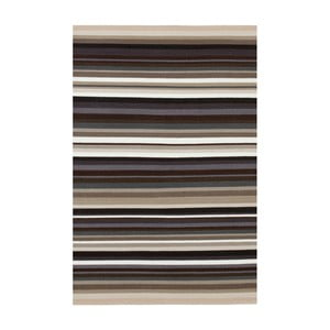 Béžový ručně tkaný vlněný koberec Linie Design Refine, 170x240cm