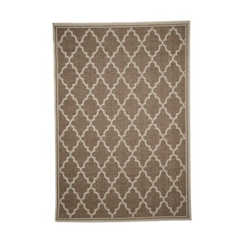 Covor adecvat pentru exterior Floorita Intreccio Natural, 160 x 230 cm, maro imagine