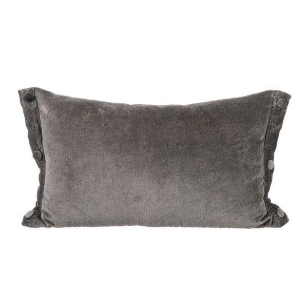 Polštář Velour Grey, 30x50 cm