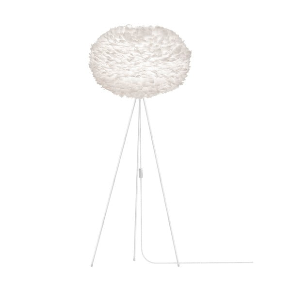 Bílé stínidlo z husího peří VITA Copenhagen EOS, Ø75cm