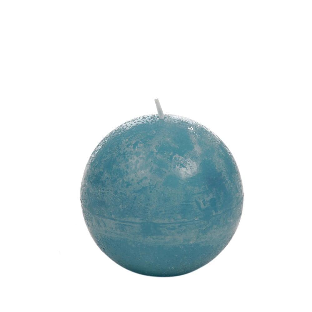 Azurově modrá svíčka J-Line Globe