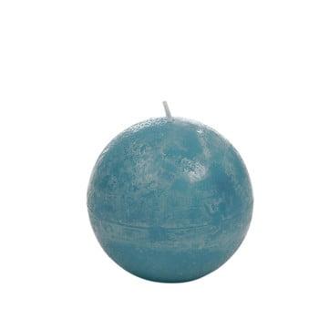 Lumânare J-Line Globe, albastru azuriu imagine