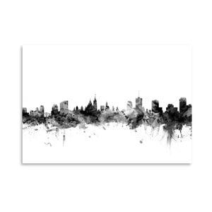 Plakát Americanflat Ottawa Skyline, 42 x 30 cm