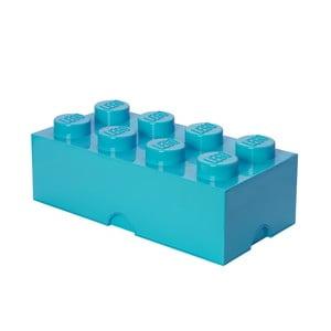 Cutie depozitare LEGO®, albastru azur