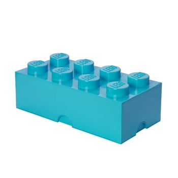 Cutie depozitare LEGO®, albastru azur de la LEGO®