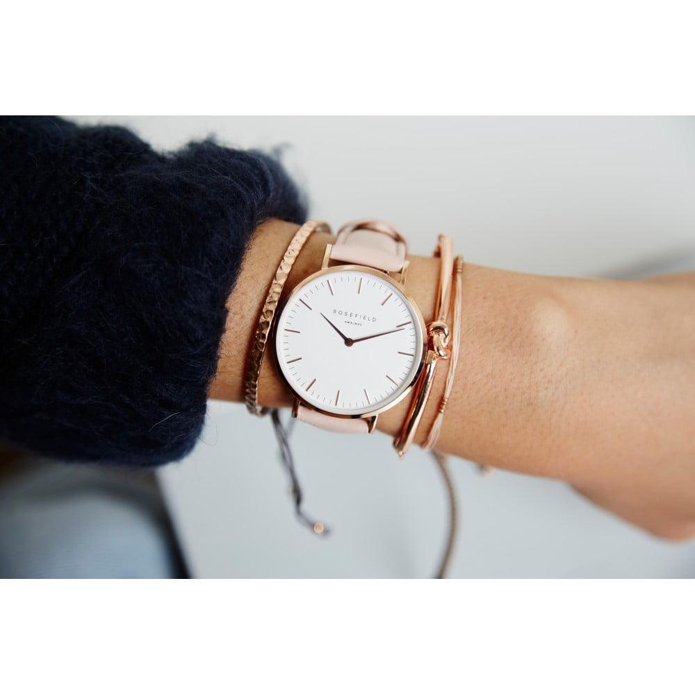 ... Bílorůžové dámské hodinky Rosefield The Bowery ... 07da40b73da
