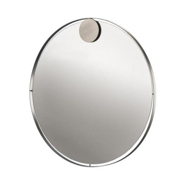Nástenné zrkadlo z antikoro ocele Zone Ring, ø 50 cm