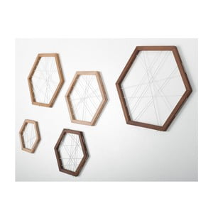 Rachetta Wood, sada 5 ukládacích rámů