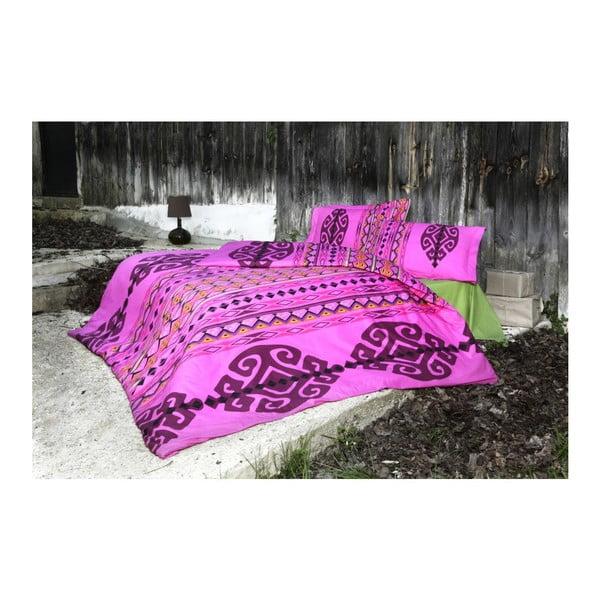 Povlečení Marbel Pink, 200x220 cm