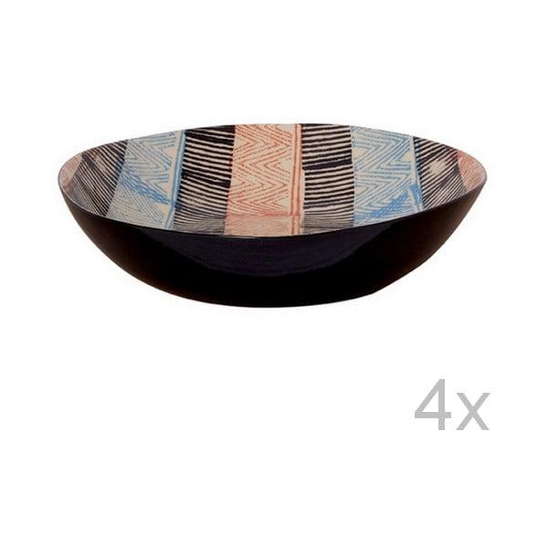 Set hlubokých talířů Samburu, 21,5 cm (4 ks)