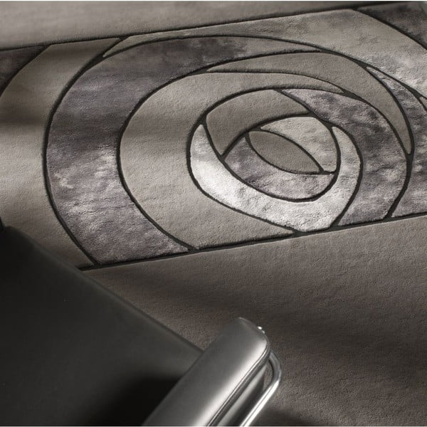 Koberec Gravity Grey, 140x200 cm