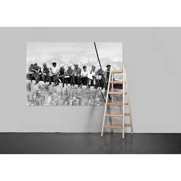 Velkoformátová tapeta Eating Above Manhattan, 175x115 cm