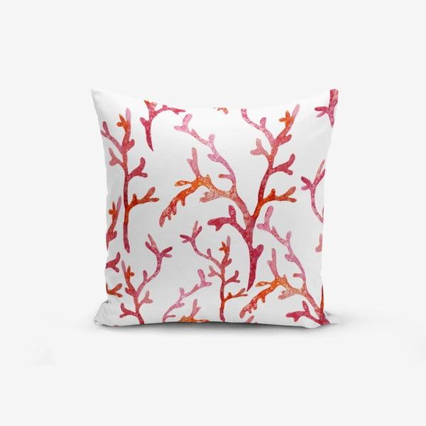 Față de pernă cu amestec din bumbac Minimalist Cushion Covers Sea Plant, 45 x 45 cm