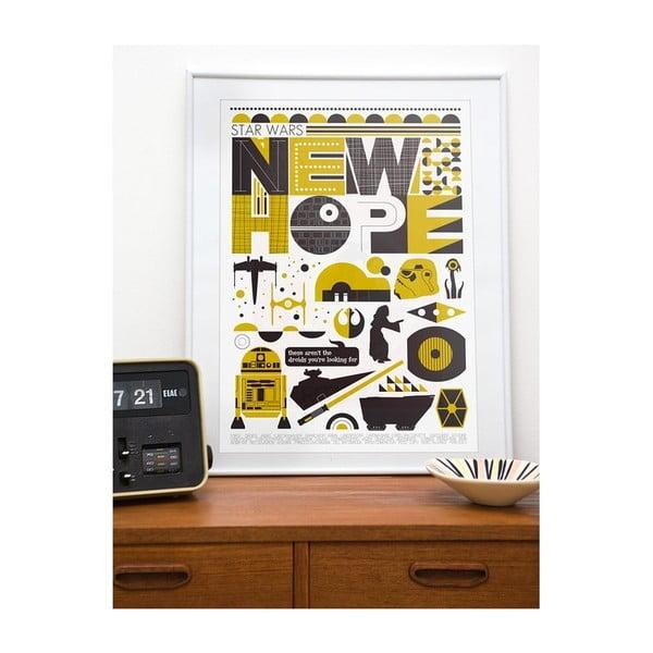 Plakát Stars Wars New Hope