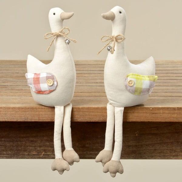Sada 2 dekorací Goose