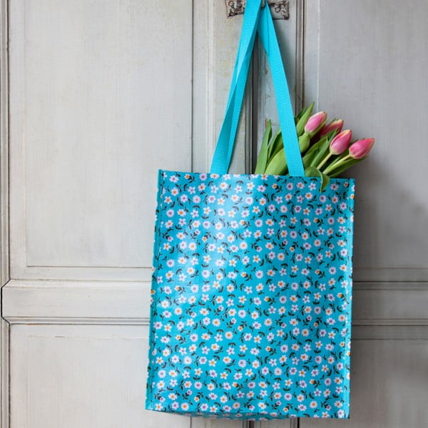 Modrá nákupní taška Rex London Daisy