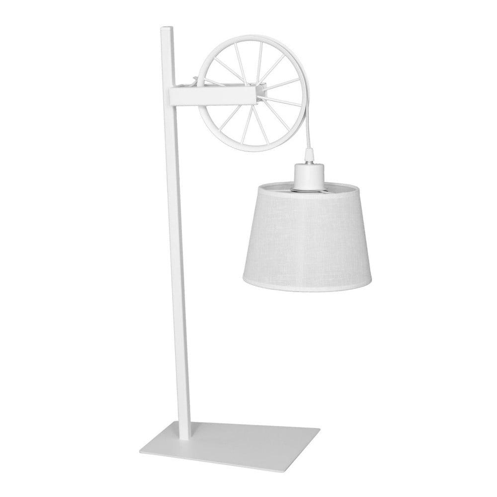 Bílá stolní lampa Hydrus Suro