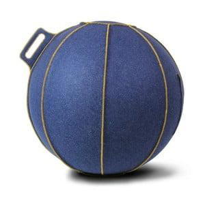 Modrý plstěný sedací míč VLUV, 65 cm