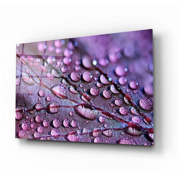 Rain Drops üvegezett kép - Insigne