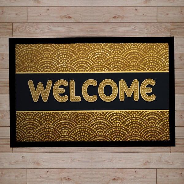Rohožka Welcome Yellow, 40x60 cm