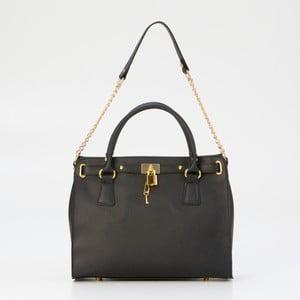 Černá kožená kabelka Pia Sassi Palermo