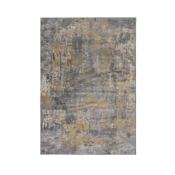 Szaro-żółty chodnik Flair Rugs Wonderlust, 80x300 cm