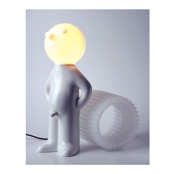 Lampa Mr. P One Man Shy, bílé stínidlo