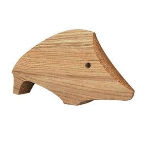 Dřevěná dekorace ve tvaru prasátka Javorina