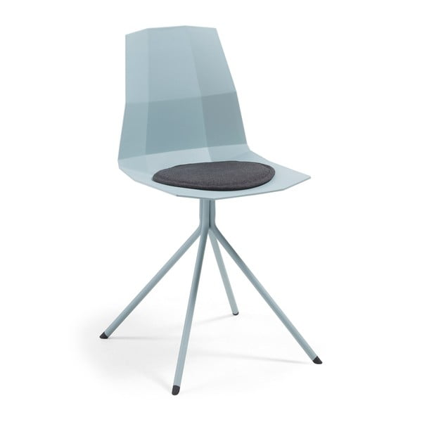 Světle modrá jídelní židle La Forma Pixel
