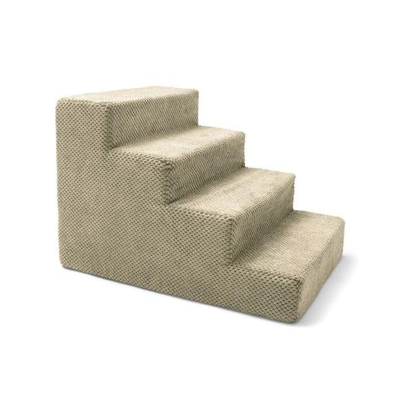 Stairs bézs kutyalépcső, 40 x 60 x 40 cm - Marendog