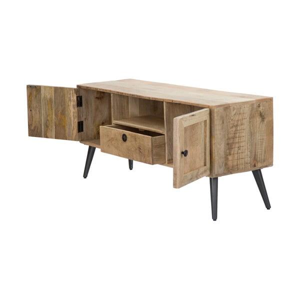 Masă TV din lemn de mango Mauro Ferretti Belgrado