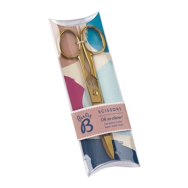 Nůžky ve zlaté barvě Busy B