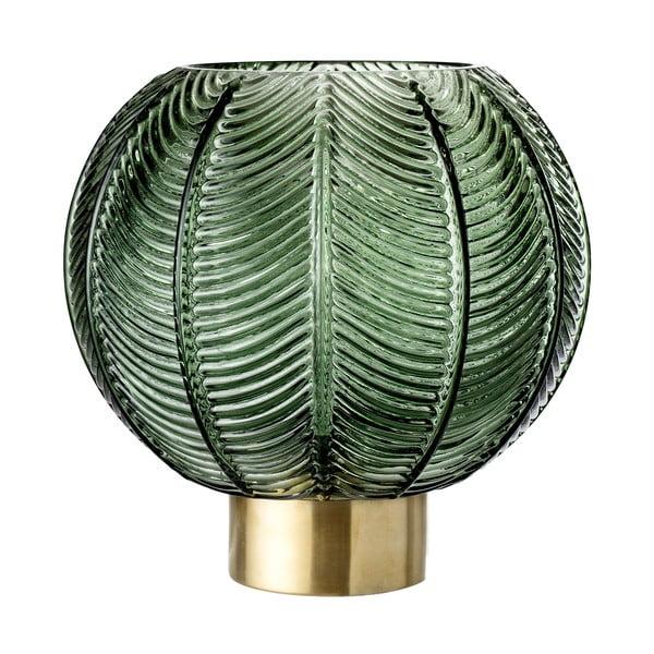 Zielony wazon szklany Bloomingville