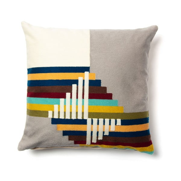 Kolorowa poszewka na poduszkę La Forma Amary, 45x45 cm