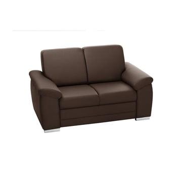 Canapea cu 2 locuri Florenzzi Bossi maro