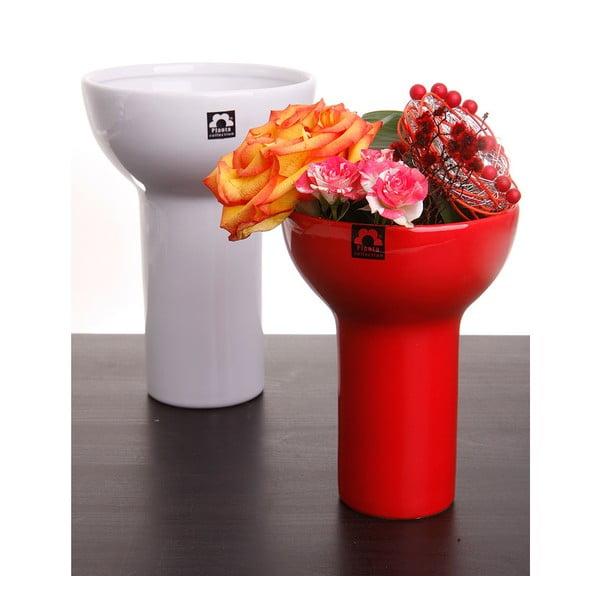 Váza Odet 25 cm, červená