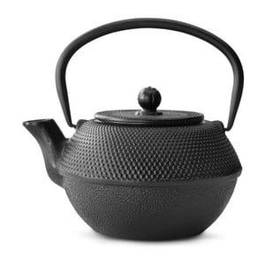 Ceainic din fontă cu infuzor Bredemeijer Jang, 1,2 l, negru