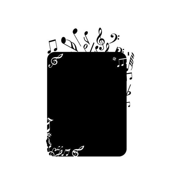 Dekorativní tabulová samolepka Note