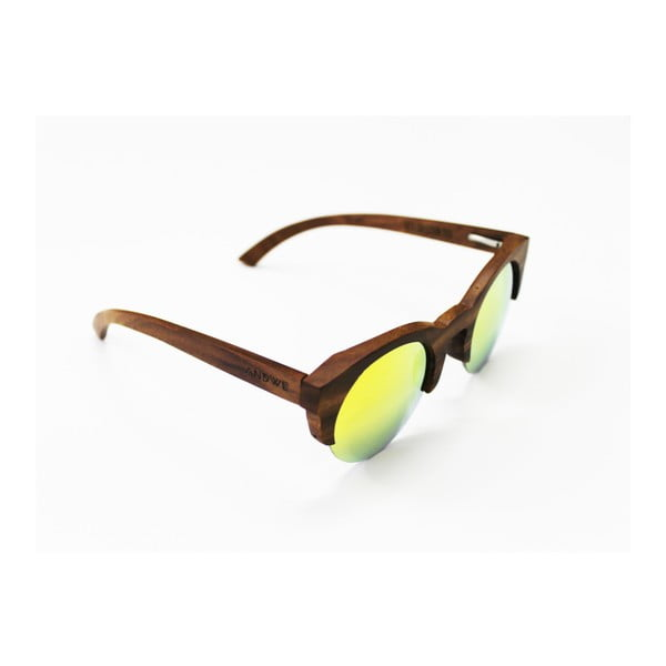 Dřevěné brýle Andwe Geek