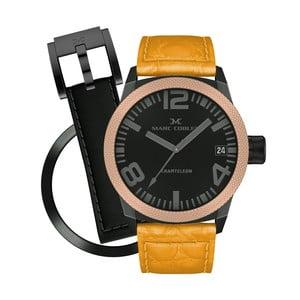 Unisex hodinky Marc Coblen s páskem a kroužkem navíc P120