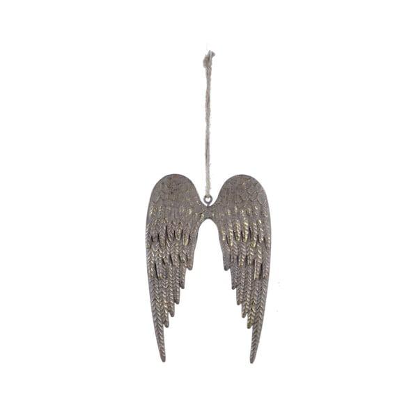 Zlatá závesná dekorácia v tvare krídel Ego Dekor