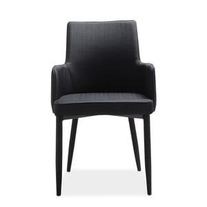 Set 4 scaune Intertrade Gala, negru