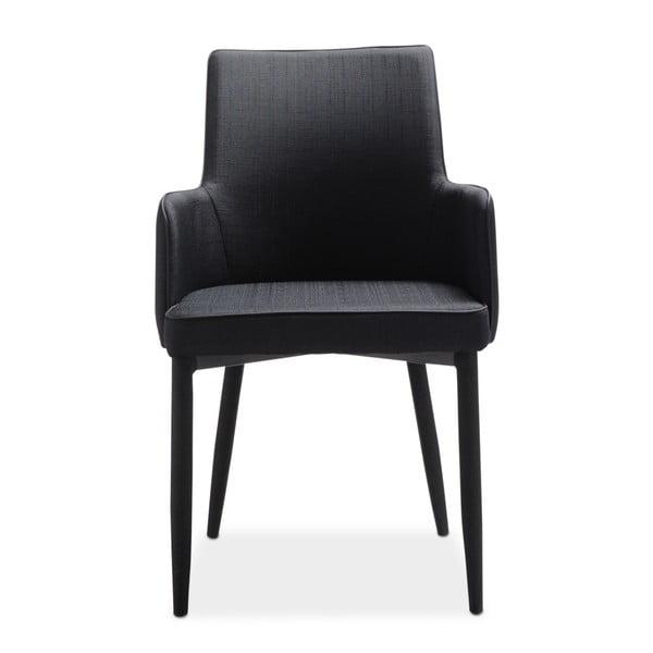 Sada 4 černých jídelních židlí Intertrade Gala